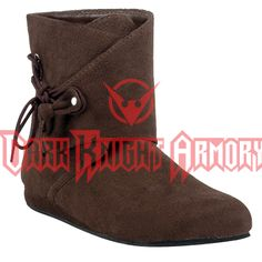 Mens Medieval Low Boot - FW2002 from Dark Knight Armoury
