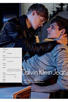 Calvin Klein Jeans Fall Winter 2015 Campaign  Texts  amp  Sex Mario  Sorrenti 7e146be5e9