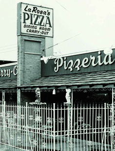 The original LaRosa's on Boudinot Avenue in Cincinnati 1960's