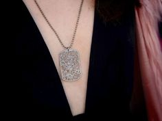 City-Map Jewelry Made with GPS Data