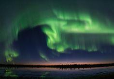 Aurora; Western Siberia, Russia   Taken by ANDREY SNEGIREV on September 2, 2016 @ Novyy Urengoy, Russia