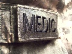 Save a life Medical Combat Medic patch by Chrippy on DeviantArt Army Medic, Combat Medic, Overwatch, Moira Burton, Teddy Altman, Lone Wanderer, Band Of Brothers, Addison Montgomery, Rpg