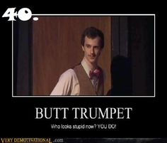 You're nothing but a butt trumpet! Harry Potter Sequel, A Very Potter Sequel, Very Potter Musical, Harry Potter Puns, Comedy Theatre, Musical Theatre, No Muggles, Avpm, Team Starkid