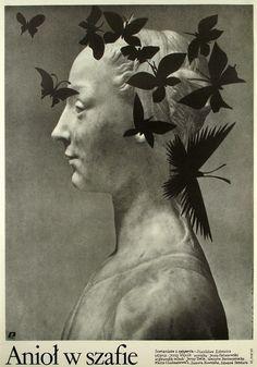 Angel in the Wardrobe Aniol w szafie Wasilewski Mieczyslaw Polish Poster