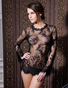 Women Long Sleeve Lingerie