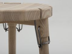 Latch (Christian Juhl, 2014): a collapsible stool using latch hinge that commonly used for jars and bottles.