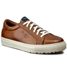 Sneakersy PEPE JEANS - Norwich Low PMS30323  Tabacco 859