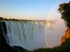 Zambezi River, Victoria Falls -- Zimbabwe