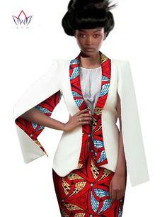 Autumn Dresses 2 Piece Dashiki Dress African Dress Suits for Women Blazer Women Skirt Suit Plus Size African Clothing BRW African Dresses For Women, African Print Dresses, African Print Fashion, African Attire, African Wear, African Fashion Dresses, Kaftan, Dashiki Dress, Ankara Dress