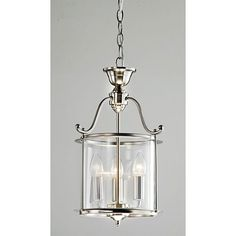 Brighten up your foyer, living room or kitchen with this versatile chrome finish chandelier. This three-light chandelier features contemporary chrome hardware accenting a distinctive ribbed glass shad Lantern Light Fixture, Chandelier Pendant Lights, Pendant Light Fixtures, Chandeliers, Bathroom Chandelier, Bronze Chandelier, Mini Pendant Lights, Entryway Lighting, Foyer Lighting