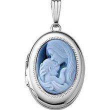 This one is way too expensive . . .    But I love the mother child cameo, I would l;ike one with 2 side accent stones for the kids, 1 Alexandrite for Josh (or pearl), and 1 Peridot for Dylan.