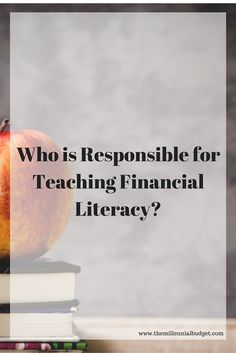 In a debt controlled world we need to teach future generations financial literacy. But who is responsible for taking on this task?
