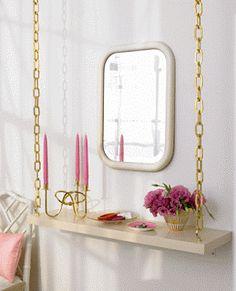 ideias de decoração para prateleiras e estantes Baratas | Ideias decoração mobiliário