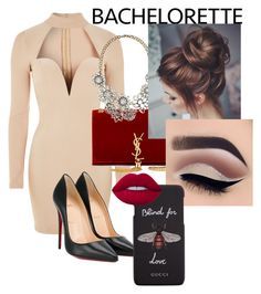"""Untitled #5"" by badassclifford ❤ liked on Polyvore featuring Rare London, Christian Louboutin, Yves Saint Laurent, Gucci and Lime Crime"