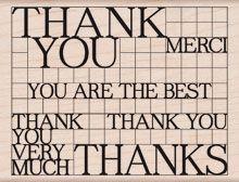 Thank you grid