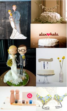 Here Are Some Fun Cake Toppers