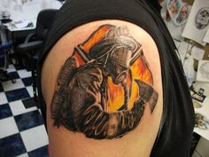 firefighter tattoo shared by nyfirestore.com