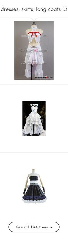 """dresses, skirts, long coats (5"" by lulu-dusk on Polyvore featuring dresses, white dresses, white day dress, white color dress, animal dress, white colour dress, summer dresses, summer day dresses, home and home decor"