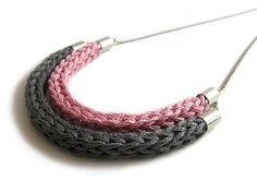 Maybe add a few beads knitted in?  And knit with i-cord... oh the possibilities