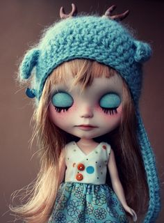 Daisy Nomad Vainilladolly Custom OOAK Blythe doll par Vainilladolly