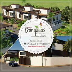 '‪#‎Ramky‬ Tranquillas' at ‪#‎Hyderabad‬ is a gated community of spacious and intelligently designed villas at an affordable price. ‪#‎RamkyTranquillas‬ @Hyderabad. For More Info Visit - www.ramkytranquillas.com