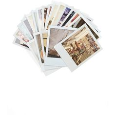Chronicle Books 'Polaroid Love' Note Cards found on Polyvore