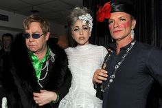 Elton John, Lady Gaga e StingSérie Fotográfica | The Hype BR