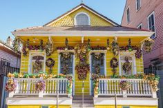 We're starting to see Mardi Gras decorations all across New Orleans' neighborhoods. Here's some of our favorite houses we've spotted.