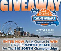 Big South Basketball Championship Giveaway!