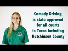 Hutchinson County Texas Defensive Driving | Comedy Driving Inc  #defensivedriving #defensivedrivingtexas #safedriving #safedrivingtexas #trafficschool #trafficschooltexas #followme #pinme  http://www.comedydriving.com/