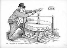 The forces of a capitalist society, if left unchecked, tend to make the rich richer and the poor poorer.
