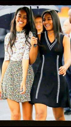 Malia and Sasha Obama: The First Daughters , Smart and Beautiful just like their Mother and Father.