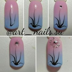 Seen nowadays as more a style activity and something that allows for inventiveness and expression of the own trend, the nail designs and art are viewed as to be a substantial section of trend and beauty. French Nails, Diy Nails, Cute Nails, Nail Art Halloween, Grey Nail Art, Grey Nail Designs, Gel Nagel Design, Nail Decorations, Flower Nails
