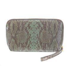 Snake mint Cosmetic Bag, Snake, Mint, Cosmetics, Bags, Fashion, Schmuck, Handbags, Moda