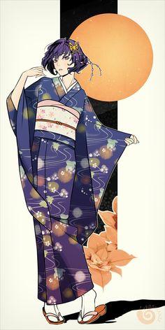 She looks gorgeous in yukata
