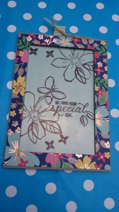 Stampin up, Garden in Bloom  Magische Karte