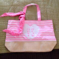 "Selling this ""Victoria's Secret beach bag with scarf"" in my Poshmark closet! My username is: fizzmeistro. #shopmycloset #poshmark #fashion #shopping #style #forsale #Victoria's Secret #Handbags"