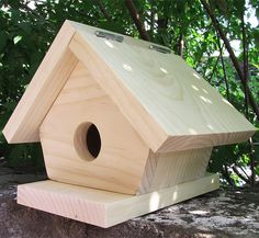 diy~wren bird house plans and many more | it's for the birds