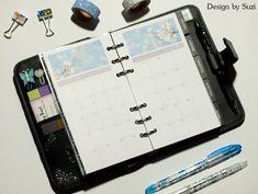Design by Suzi: DIY kalendár do diára Diy Calendar, Bullet Journal, Design