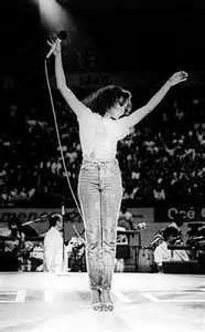 Diana Ross on stage 1980s