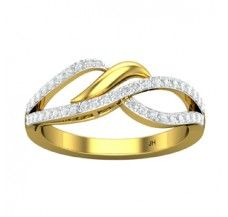 Diamond Ring 0.33 CT / 3.20 gm Gold