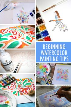Are you new to the wonderful world of watercolor? These 10 beginning watercolor painting tips for beginners will send you on a journey to painting success.