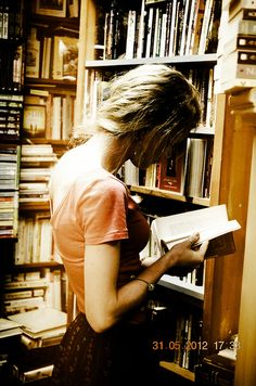 """""""I am a reader not because I don't have a life but because I choose to have many..."""""""