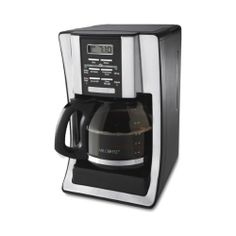 Mr. Coffee 12-Cup Programmable Coffeemaker, Chrome, New!