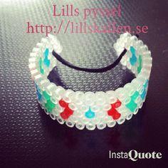 Bracelet hama beads by lillskallen