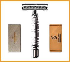 The best safety razor for men are your best options for replicating the close shave of a straight razor without a real painful. Best Safety Razor, Safety Razor Blades, Shaving Razor, Wet Shaving, Best Razor For Men, Vikings Blade, Best Electric Razor, Cool Gadgets For Men, Shaving