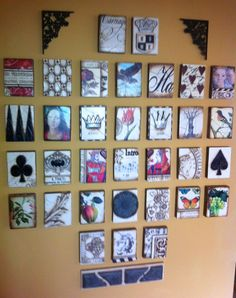 Our Sid Dickens wall.