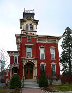 Watertown, NY House 14 by army.arch, via Flickr - Widow's Walk