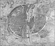 Il y a sur cette page plus de 60 plans de Paris de toutes les époques et en très haute résolution retraçant toute l'histoire de la ville de sa création à nos jours avec toutes ses évolutions. Pour alléger la page il faut parfois cliquer dessus pour obtenir l'image dans sa meilleure qualité. Autres :