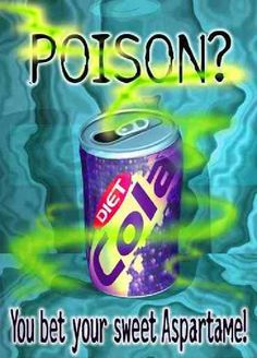 Aspartame is a huge problem, particularly in diet drinks. Discover why and share with your diet soda addict friends.